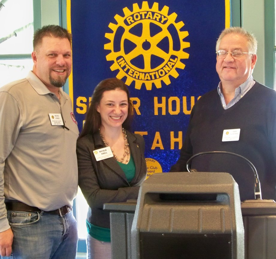 Newest Sugar House Rotary Member